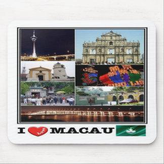 Mousepad MO Macau - mosaico do amor de I - torre de Macau -