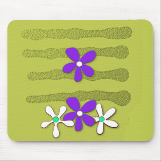 Mousepad MOD-ART-DESIGN_Flower's-Grape-Olive