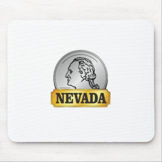 Mousepad moeda de nevada