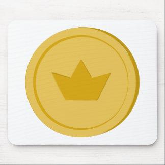 Mousepad Moeda de ouro