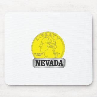 Mousepad Moeda de ouro de Nevada
