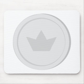 Mousepad Moeda de prata