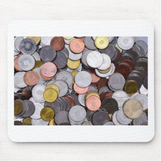 Mousepad moedas romenas