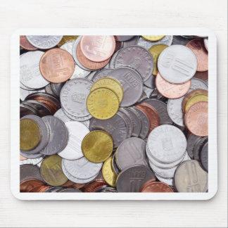 Mousepad Moedas romenas da moeda