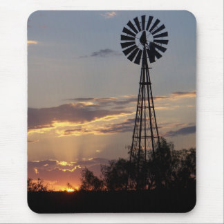 Mousepad Moinho de vento ocidental de Texas
