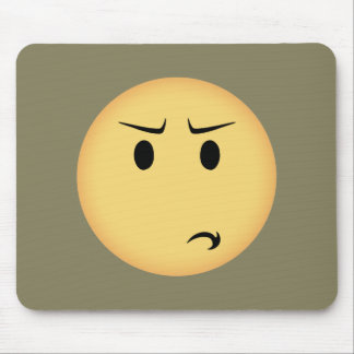 Mousepad Moji Disappointed