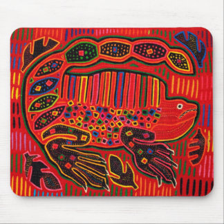 Mousepad Mola indiano da iguana de Kuna