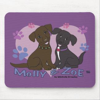 Mousepad Molly & Zoe