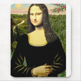 Mousepad Mona Lisa - adicione um animal de estimação