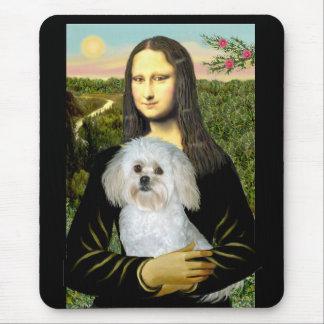 Mousepad Mona Lisa e seu PekePoo