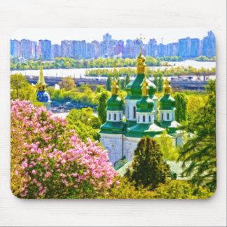 Mousepad Monastério de Vydubitsky. Kiev, Ucrânia