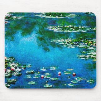 Mousepad Monet-Água-Lírios de Claude