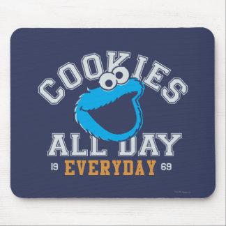 Mousepad Monstro do biscoito diário