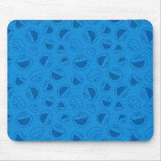 Mousepad Monstro do biscoito | mim teste padrão azul