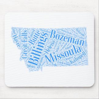 Mousepad Montana-azul
