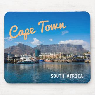 Mousepad Montanha da mesa em Cape Town, África do Sul.