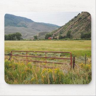 Mousepad montanhas ásperas em Colorado central
