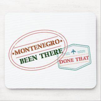 Mousepad Montenegro feito lá isso