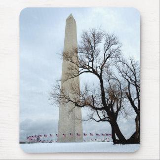 Mousepad Monumento de Washington no inverno