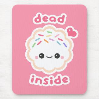 Mousepad Morto bonito dentro do biscoito