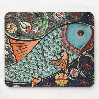 Mousepad Mosaico de Koi