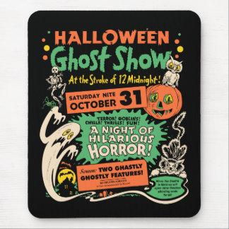 Mousepad Mostra 1950 do fantasma do Dia das Bruxas