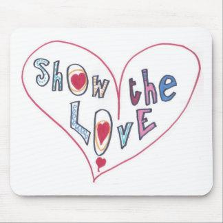 Mousepad Mostre o amor