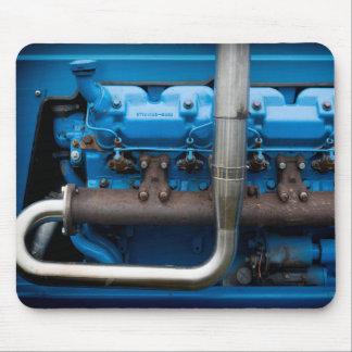 Mousepad Motor azul do trator