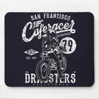 Mousepad Motor Califórnia do piloto do café de San
