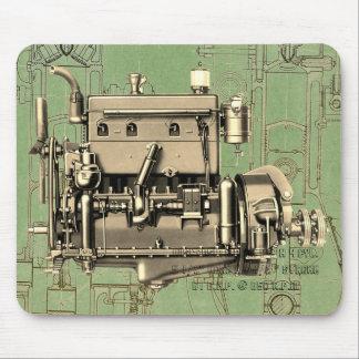 Mousepad Motor de gás B-3 de Milwaukee Wisconsin do motor