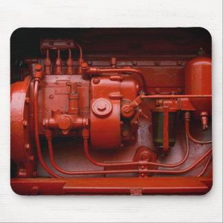 Mousepad Motor vermelho do trator