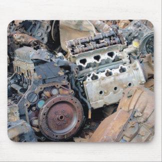 Mousepad Motores do cemitério de automóveis