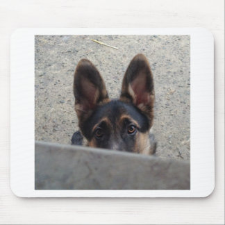 Mousepad Mousemat do filhote de cachorro do german shepherd
