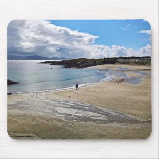 Mousepad Mousepad: Praia bonita com céu azul; Ireland