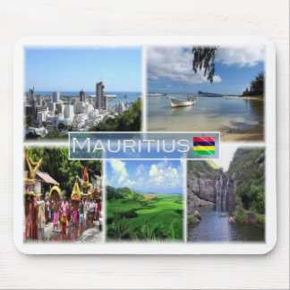 Mousepad MU Maurícia - Port Louis -