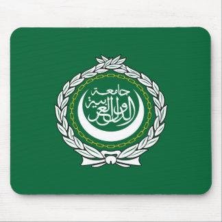 Mousepad Muçulmanos islâmicos do símbolo da bandeira da