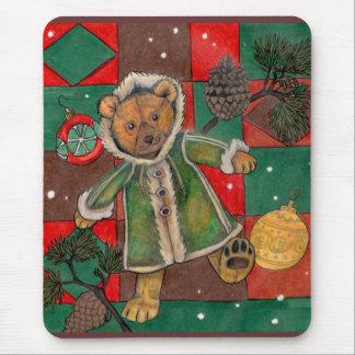 Mousepad Muito ursinho do Natal de Beary