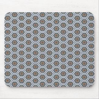 Mousepad Multi hexágonos das cores. Teste padrão da malha