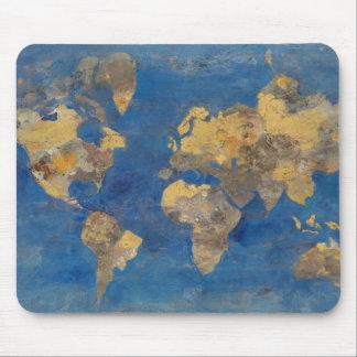 Mousepad Mundo dourado