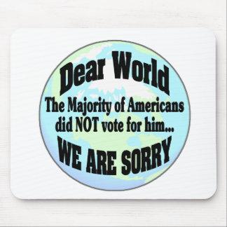 Mousepad mundo sorry2