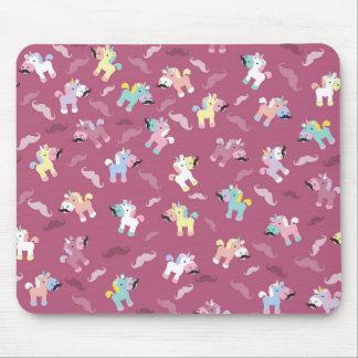 Mousepad Mustachio Unicornio
