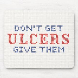 Mousepad Não fique úlceras