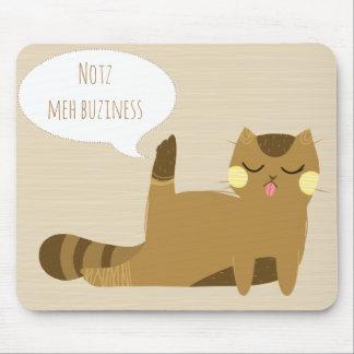 """Mousepad """"Não meu negócio """""""