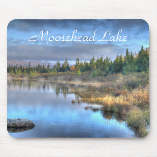 Mousepad Nascer do sol do outono no lago Maine Moosehead