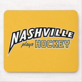 Mousepad Nashville joga o tapete do rato do ouro do hóquei