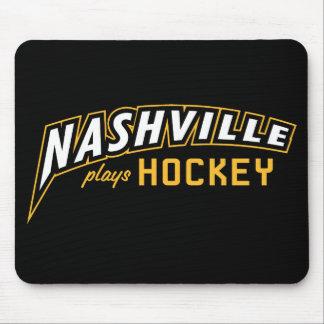 Mousepad Nashville joga o tapete do rato preto do hóquei