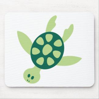 Mousepad Natação da tartaruga verde
