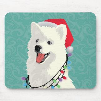 Mousepad Natal bonito do cão de filhote de cachorro do