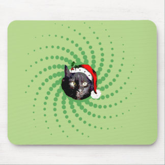 Mousepad Natal do gato preto