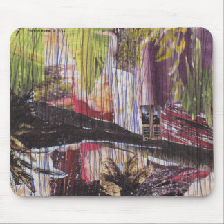 Mousepad Natural disaster collage mouse mat